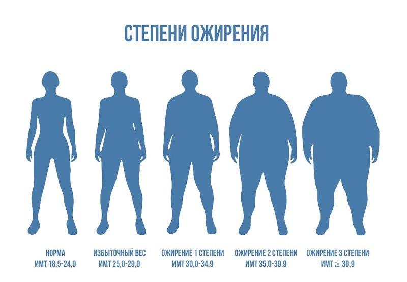 Что такое избыточный вес и ожирение