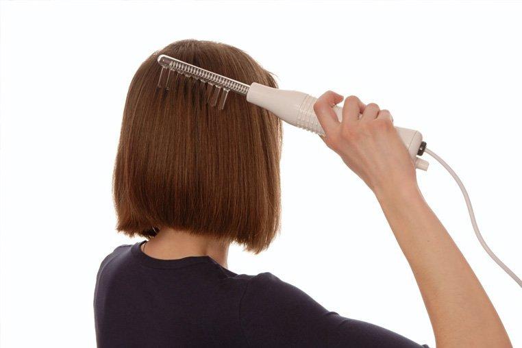 Дарсонваль - укрепление волос