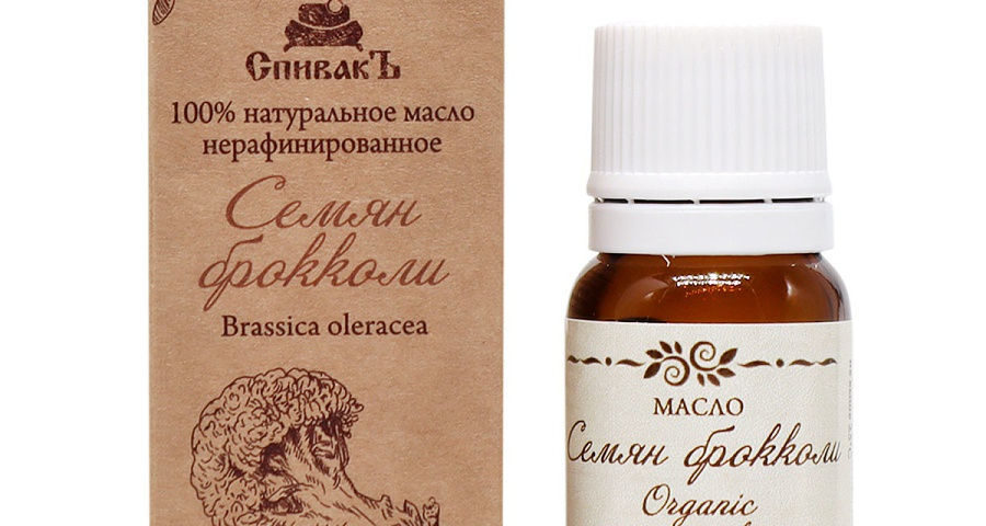 Масло семян брокколи для волос