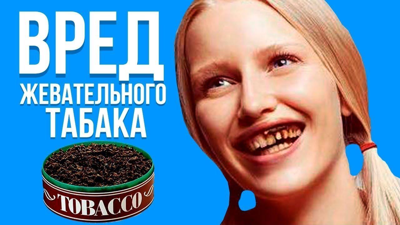 О вреде жевательного табака