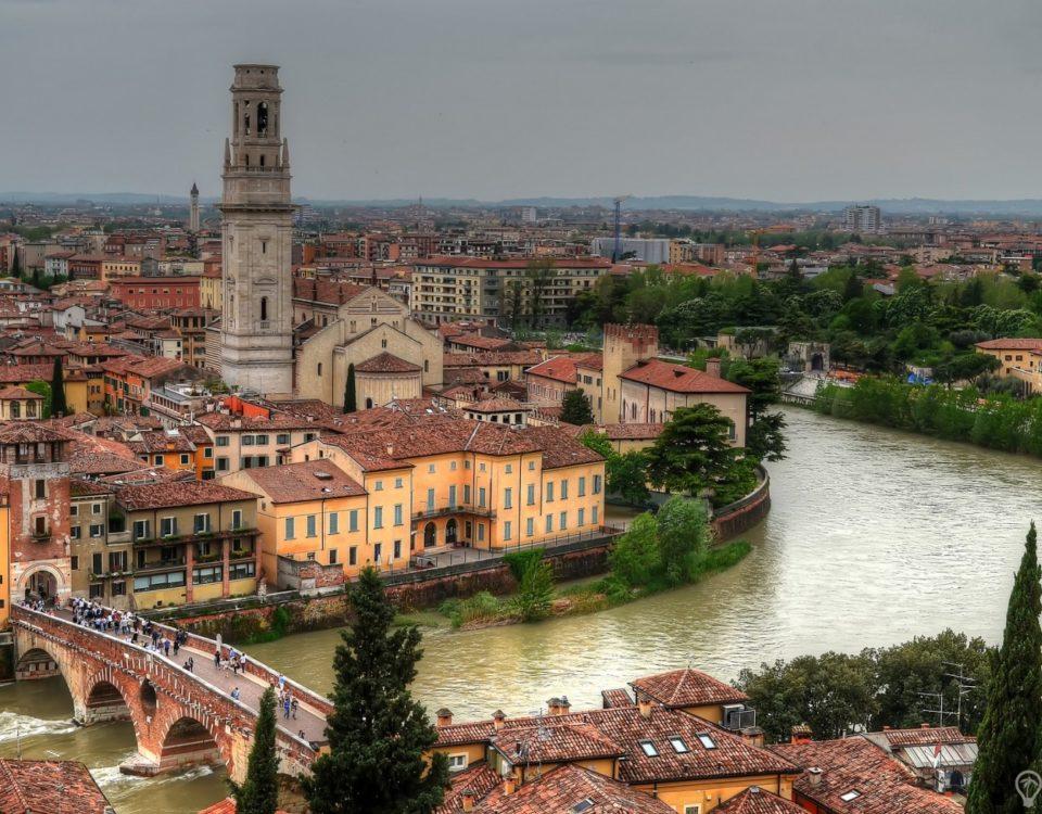 Путешествие в Италию в Верону